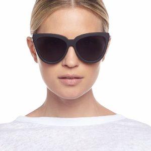 Le Specs Liar Lair Polarized Black Sunglasses NWT